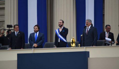 "Presidente Nayib Bukele: ""No seré el presidente de un sector, seré el presidente de todo El Salvador"""