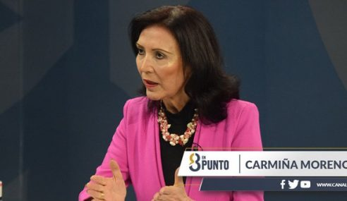 """Carmiña Moreno: """"He podido trabajar con el Gobierno anterior y ahora estamos en un diálogo muy profundo con el nuevo"""""""