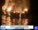 25 muertos y 9 desaparecidos tras incendio de barco en California