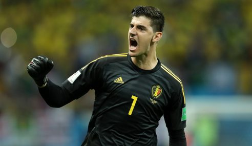 Courtois y dos porterías a cero en Bélgica para recuperar confianza con el Real Madrid