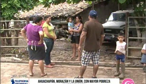 Ahuachapán, Morazán y La Unión, con mayor pobreza multidimensional