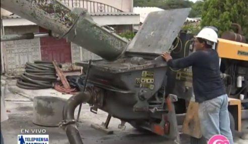 Continúan trabajos de mitigación en la residensial Santa Lucía
