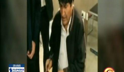 Argentina otorga asilo a expresidente de Bolivia, Evo Morales
