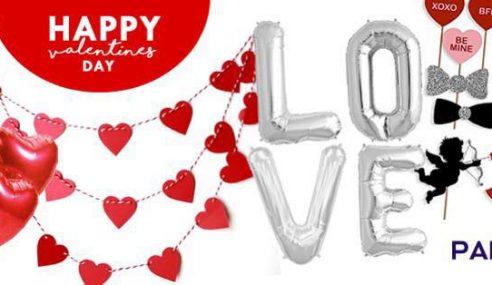 Globos con frases personalizadas: colección Valentine's Day