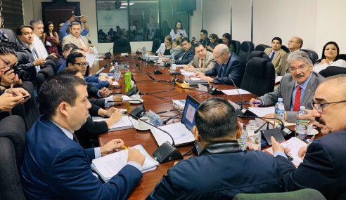 Comisión de Hacienda discute puntos de aprobación para fondos de plan de seguridad
