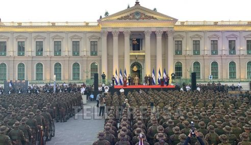 Presidente Bukele anuncia  incorporación de 1,400 miembros de la Fuerza Armada a tareas de seguridad pública