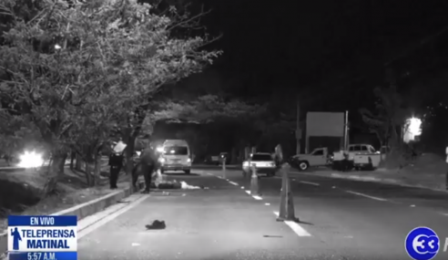 Más peatones mueren en los accidentes